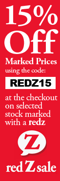 RedZed Sale 15% off