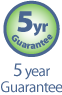5yrs Guarantee