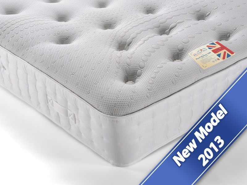 The Royal Memory 1400- British Bed Company Mattress