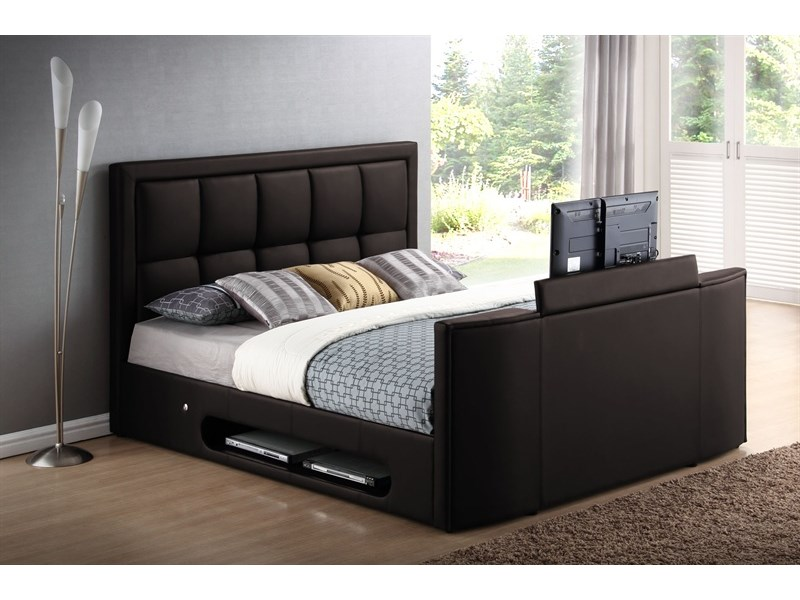 d47bc7e703 Azure TV Bed In Chocolate