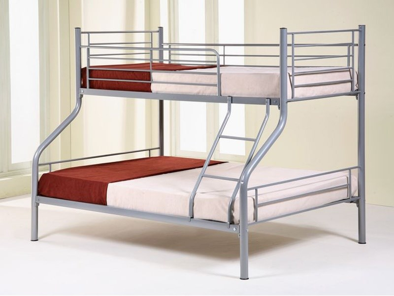 Arcadia Bedroom Furniture Shorty Metal Bunk Beds With Mattresses Duvet