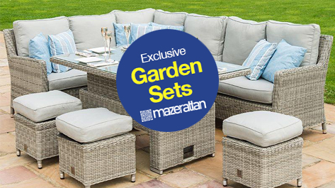 View Maze Rattan Garden Furniture at Cheap Prices