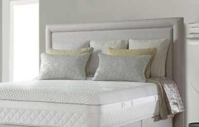 sealy divan bed grey