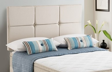 silentnight divan bed grey