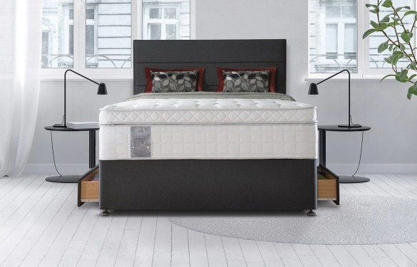 image of bed frame for sealy