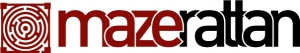 logo and brand for maze rattan