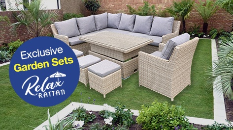 View Relax Rattan Garden Furniture at Cheap Prices