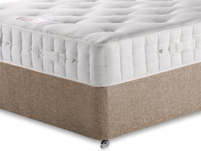 Hypnos Princess (Medium) 4 6 Double Mattress with Executive Biscuit Double No Drawers Divan Set