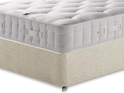 Hypnos Duchess (Medium) 4 6 Double Mattress with Executive Barley Double 0 Drawer Divan Set