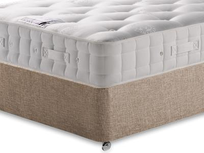 Hypnos Duchess (Medium) 4 6 Double Mattress with Executive Biscuit Double No Drawers Divan Set