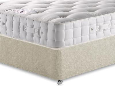 Hypnos Baronet (Medium) 5 King Size Mattress with Executive Barley King Size 0 Drawer Divan Set
