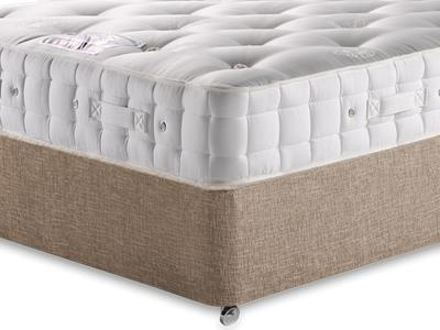 Hypnos Baronet (Medium) 4 6 Double Mattress with Executive Biscuit Double No Drawers Divan Set