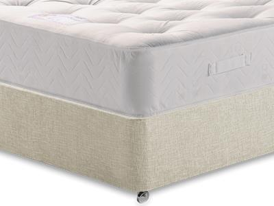 Healthopaedic Billionaire Ortho 4 6 Double Mattress with Executive Barley Double 0 Drawer Divan Set