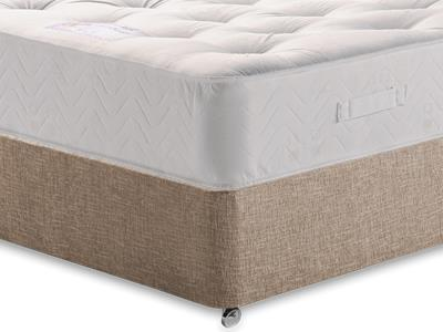 Healthopaedic Billionaire Ortho 4 Small Double Mattress with Executive Biscuit Small Double No Drawers Divan Set