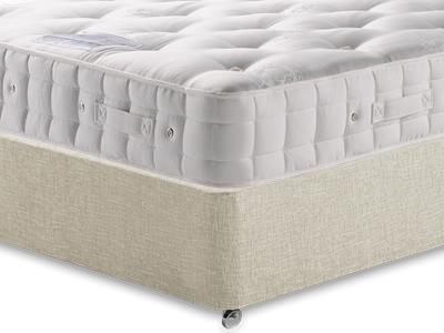Hypnos Duchess (Soft) 6 Super King Mattress with Executive Linked Barley Super King 0 Drawer Divan Set