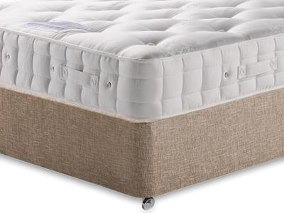 Hypnos Duchess (Soft) 4 6 Double Mattress with Executive Biscuit Double No Drawers Divan Set