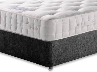 Hypnos Duchess (Soft) 5 King Size Mattress with Executive Black King Size No Drawers Divan Set