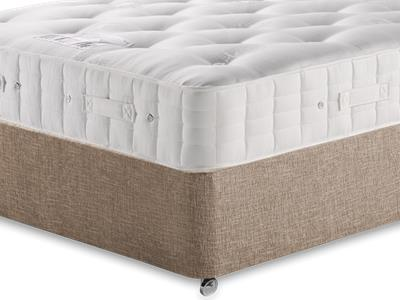 Hypnos Princess (Firm) 4 6 Double Mattress with Executive Biscuit Double No Drawers Divan Set