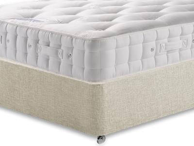 Hypnos Baronet (Firm) 4 6 Double Mattress with Executive Barley Double 0 Drawer Divan Set