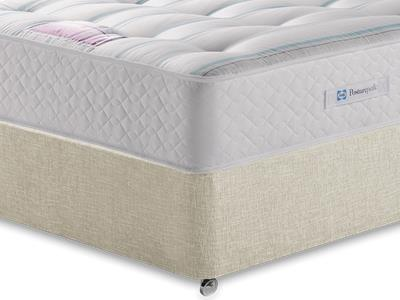 Sealy Millionaire Ortho 4 6 Double Mattress with Executive Barley Double 0 Drawer Divan Set