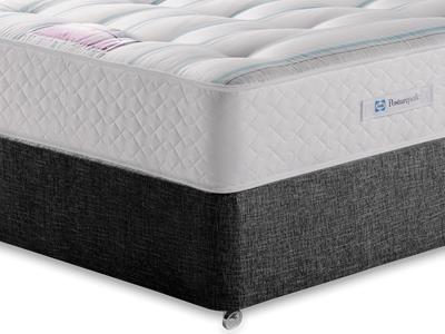 Sealy Millionaire Ortho 5 King Size Mattress with Executive Black King Size No Drawers Divan Set
