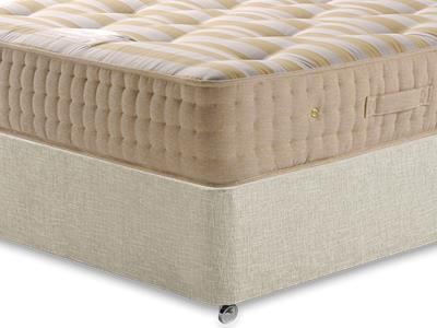 Sleepeezee Potters Premier 1400 5 King Size Mattress with Executive Barley King Size 0 Drawer Divan Set