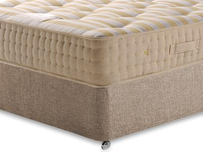 Sleepeezee Potters Premier 1400 4 6 Double Mattress with Executive Biscuit Double No Drawers Divan Set