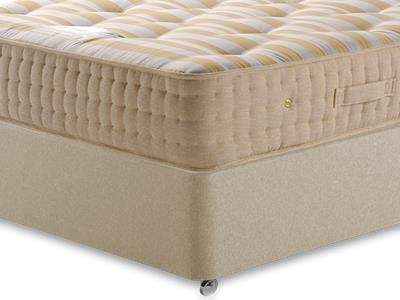Sleepeezee Potters Premier 1400 4 6 Double Mattress with Executive Sandstone Double 4 Drawer Divan Set