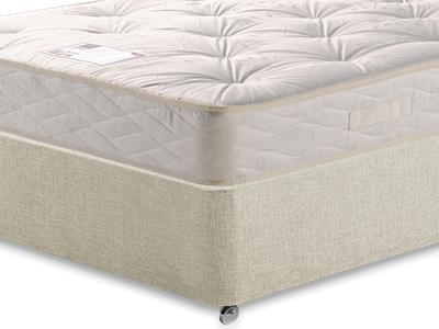 Myers Beds Maestro 4 6 Double Mattress with Executive Barley Double 0 Drawer Divan Set
