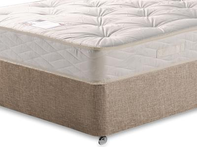 Myers Beds Maestro 4 Small Double Mattress with Executive Biscuit Small Double No Drawers Divan Set