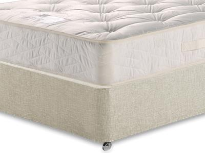 Myers Beds Duo Ortho Deluxe 5 King Size Mattress with Executive Barley King Size 0 Drawer Divan Set