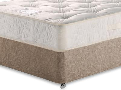 Myers Beds Duo Ortho Deluxe 4 Small Double Mattress with Executive Biscuit Small Double No Drawers Divan Set
