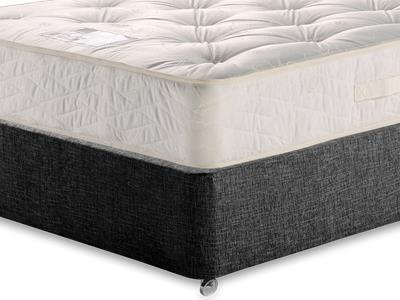 Myers Beds Duo Ortho Deluxe 5 King Size Mattress with Executive Black King Size No Drawers Divan Set