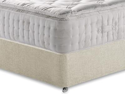 Relyon Natural Supreme 2200 5 King Size Mattress with Executive Barley King Size 0 Drawer Divan Set