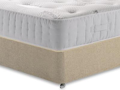 Healthopaedic Zero Gravity 1000 3 Single Mattress with Classic Mink Single Slide Store Divan Set