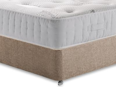 Healthopaedic Zero Gravity 1000 4 Small Double Mattress with Executive Biscuit Small Double No Drawers Divan Set