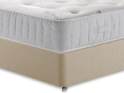 Healthopaedic Zero Gravity 1000 4 Small Double Mattress with Executive Sandstone Small Double 4 Drawer Divan Set