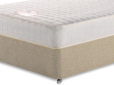 Snuggle Beds Memory Luxe 2 6 Small Single Mattress with Classic Mink Small Single Slide Store Divan Set