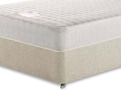 Snuggle Beds Memory Luxe 5 King Size Mattress with Executive Barley King Size 0 Drawer Divan Set