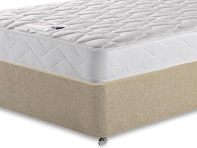 Silentnight Special Sleep 3 Single Mattress with Classic Mink Single Slide Store Divan Set