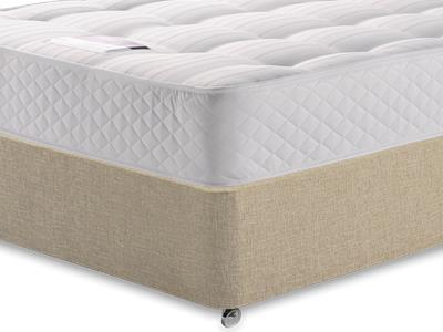Silentnight Ortho Sleep 3 Single Mattress with Classic Mink Single Slide Store Divan Set