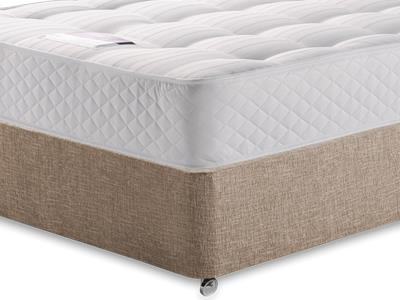 Silentnight Ortho Sleep 4 Small Double Mattress with Executive Biscuit Small Double No Drawers Divan Set