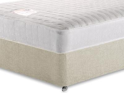 Snuggle Beds Pocket Memory Ortho 1000 3 Single Mattress with Executive Barley Single 0 Drawer Divan Set