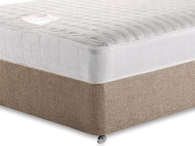 Snuggle Beds Pocket Memory Ortho 1000 4 Small Double Mattress with Executive Biscuit Small Double No Drawers Divan Set