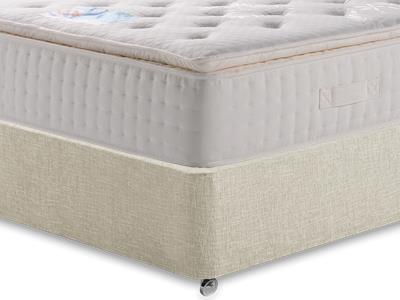 Kaymed Opal 4 6 Double Mattress with Executive Barley Double 0 Drawer Divan Set