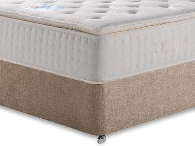 Kaymed Opal 4 6 Double Mattress with Executive Biscuit Double No Drawers Divan Set