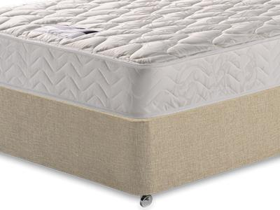 Silentnight Miracoil Sleep 3 Single Mattress with Classic Mink Single Slide Store Divan Set