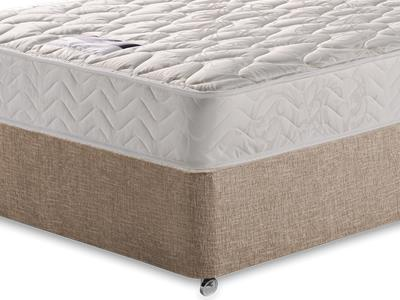 Silentnight Miracoil Sleep 4 Small Double Mattress with Executive Biscuit Small Double No Drawers Divan Set