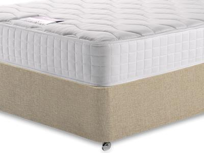 Silentnight Pocket Essentials 1000 3 Single Mattress with Classic Mink Single Slide Store Divan Set