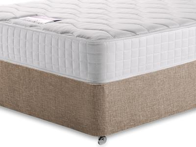 Silentnight Pocket Essentials 1000 4 6 Double Mattress with Executive Biscuit Double No Drawers Divan Set